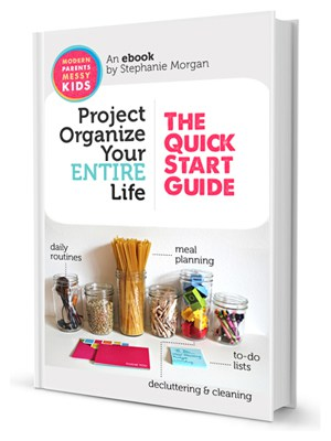 Project Organize Your ENTIRE Life | Will you join me in this New Years resolution?