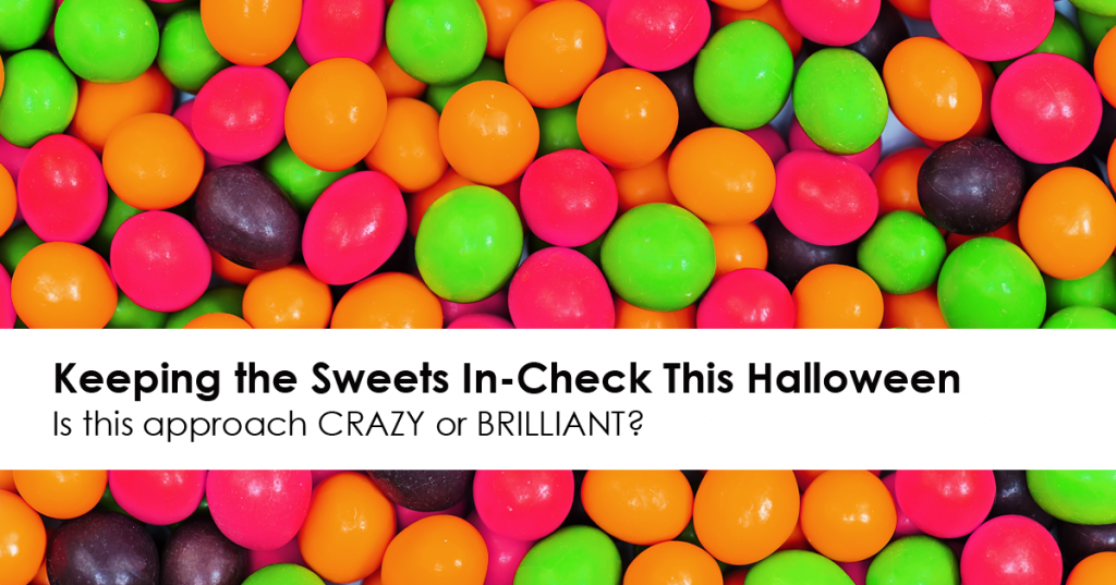 Candy for Dinner: Keeping the Sweets In-Check This Halloween *Is this approach brilliant or crazy?