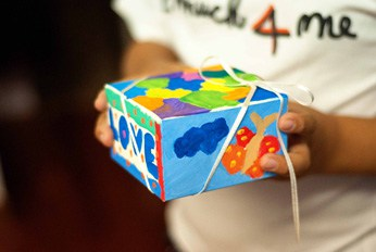 The Perfect Gift: Box of Love Poem + Kids' Craft Tutorial