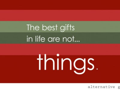"""{4 Alternative """"Experience"""" Presents to Give Your Kids for Christmas} Great quote, """"The greatest gift you can give another is the purity of your attention."""" ~Richard Moss"""