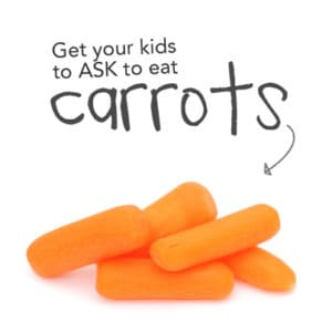 Get your kids to LOVE veggies *This is a great carrot tip