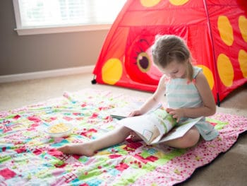 10 Tips for Camping Indoors With the Kids *Love the s'mores recipe and mock fire!