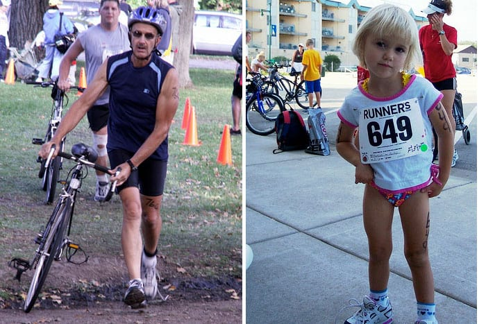 Family Triathlon | Let's Lass the Moon