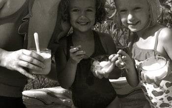 Eat Ice Cream in the Pool!