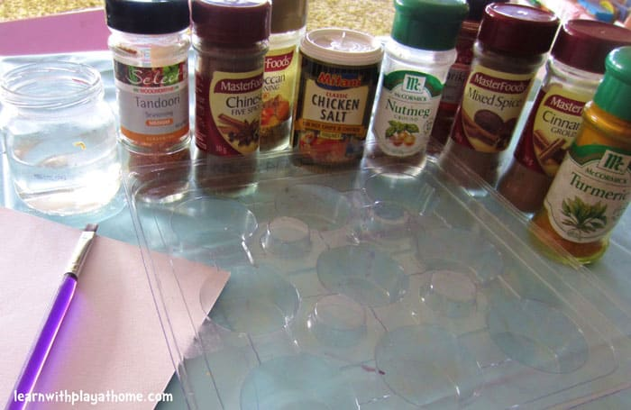 Painting with Mixed Spices