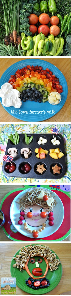 5 Ways to Play with Your Food