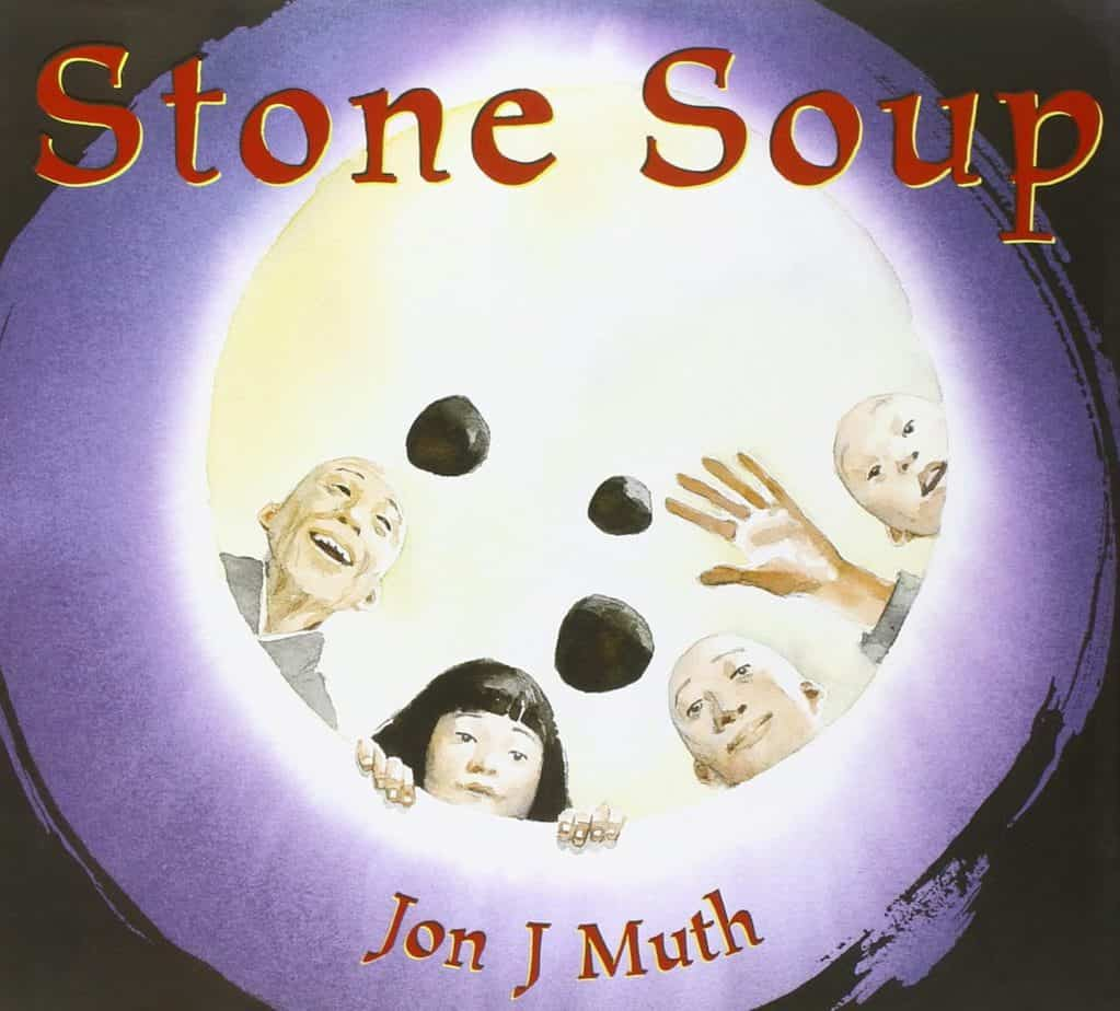 A hunger book cover: Stone Soup