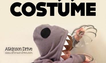 DIY Great White Shark Costume