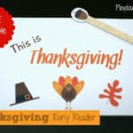 Thanksgiving Mini-Book for Your Little One