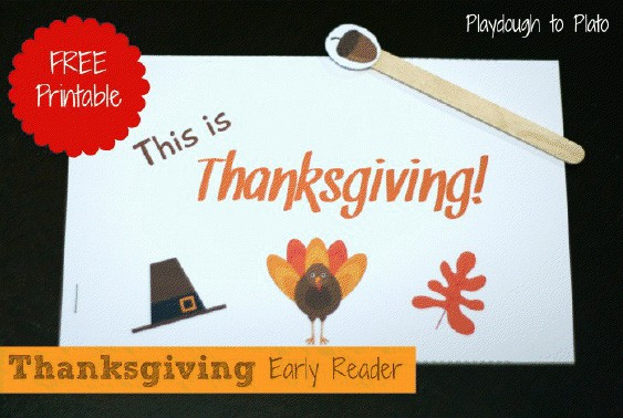 Thanksgiving Early Reader Mini-Book | Free Download