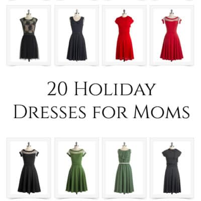 20 Holiday Dresses for Moms
