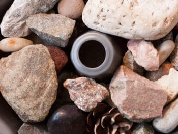 {Bundt Cake} How to Get Your Little Collector to Happily Give-up Their Rock Collection