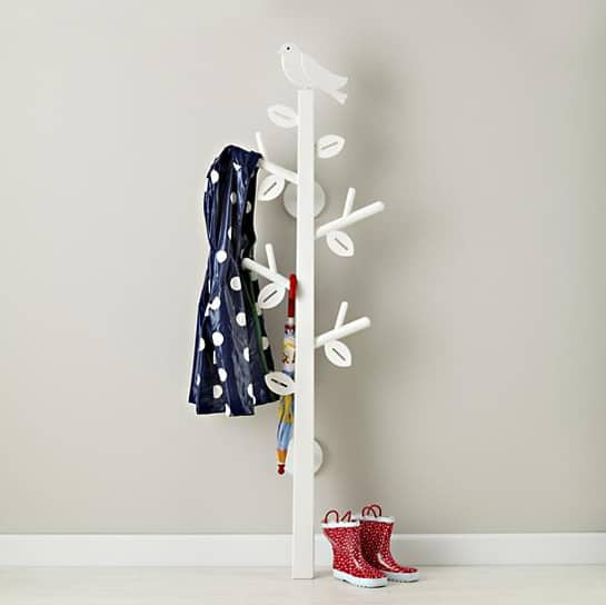 { Bird Branches Coat Tree } So flippin cute!