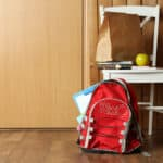 Back to School: Make mornings less stressful by creating a school prep zone for your kids *Great tips for parents
