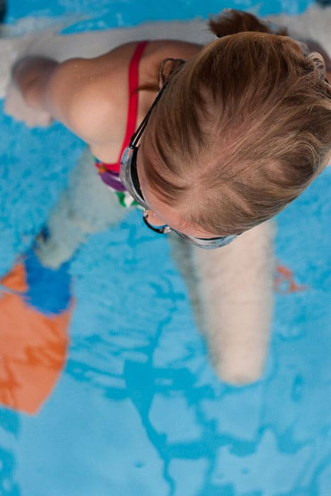 {Pool Party Tip} Best trick to getting kids out of the pool and dressed...