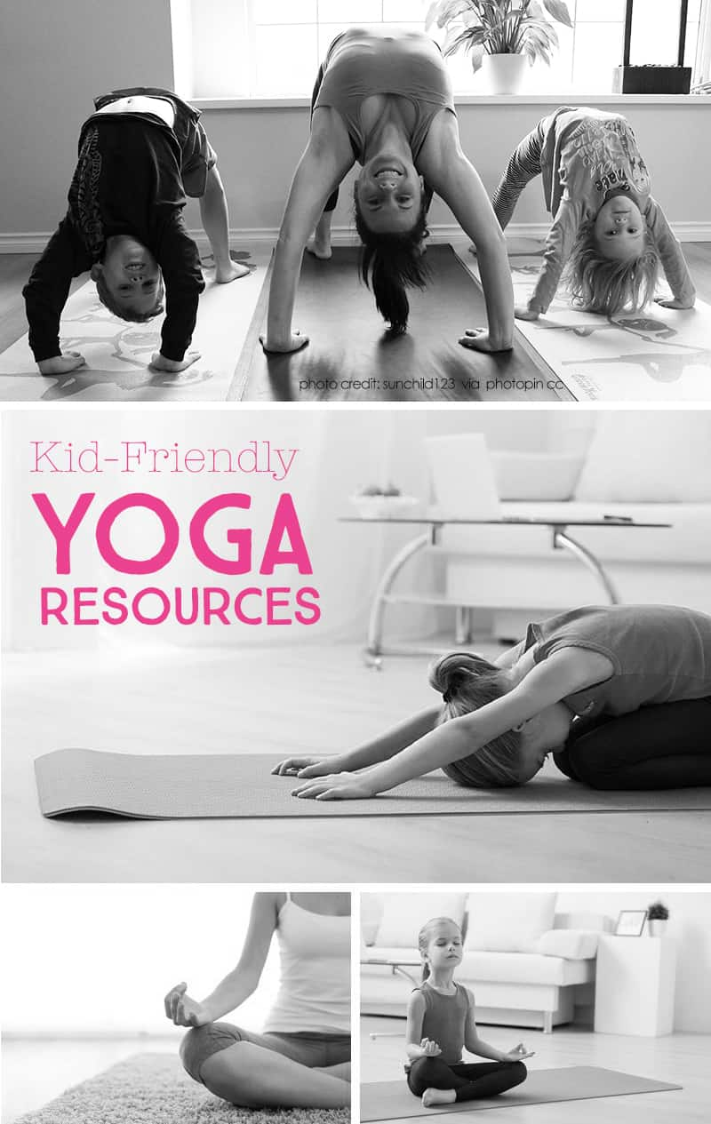 3 Family Friendly Yoga Resources for Moms *Great video and book suggestions...