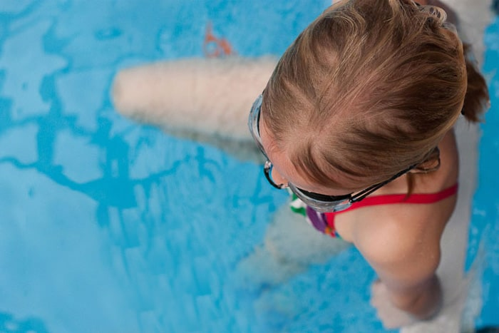 {Swim Together} *Teaching children with actions rather than words