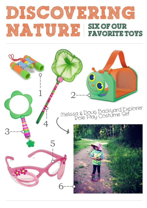 {6 awesome toys for discovering nature}