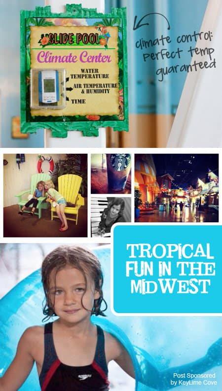 {Tropical Fun in the Midwest} Awesome family-oriented resort near Chicago