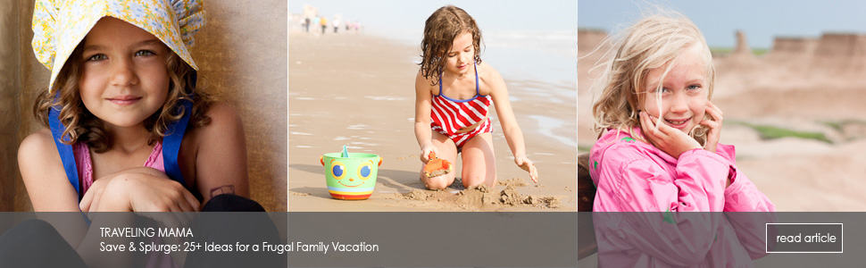 Save & Splurge: 25+ Ideas for a Frugal Family Vacation