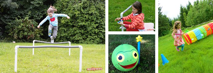 {10 Must-Try Ideas for Outdoor Fall Play} *Including obstacle course ideas