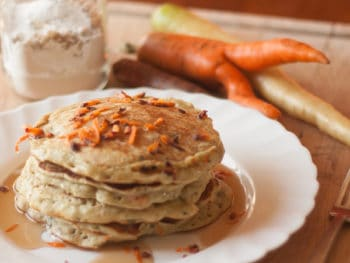 {Carrot Pancakes} *Plus 7 Hearty Autumn Recipes