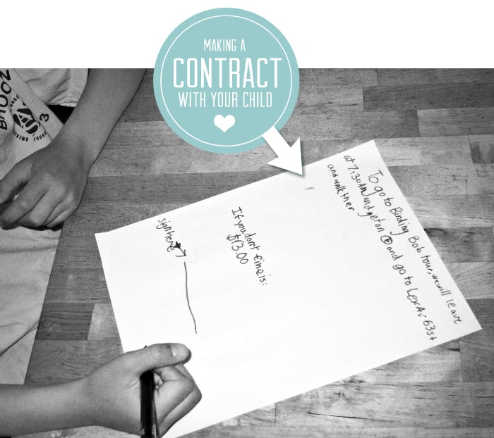 how to write a binding contract