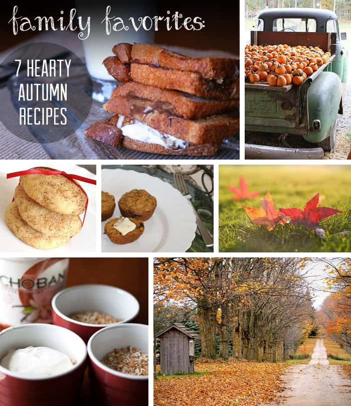 {7 Amazing Fall Recipes} *Pinning this for later...