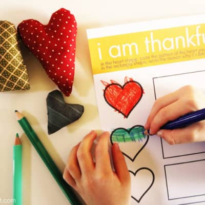 A Thankful Heart — FREE Thanksgiving Printable For Kids + A CreativeGratitude Activity
