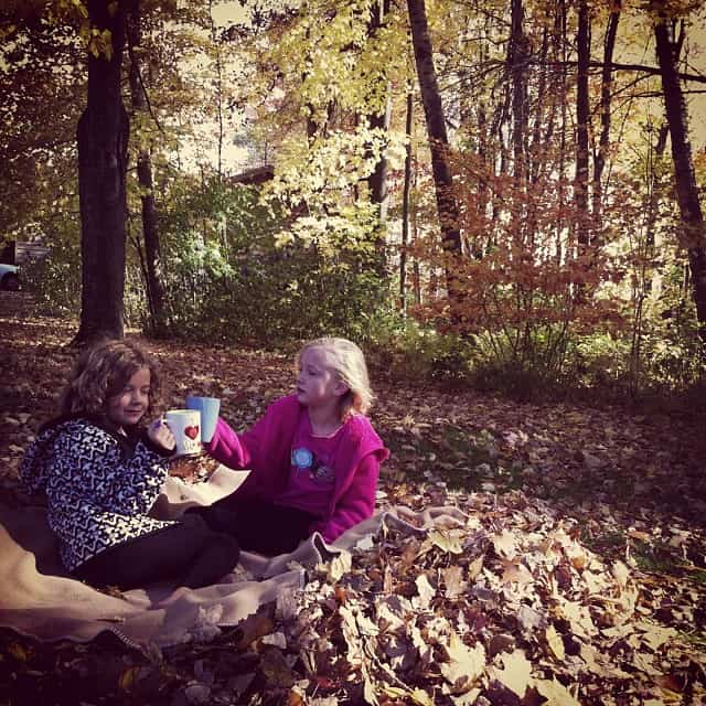 {Autumn Apple Cider Picnic}