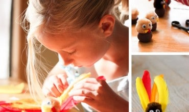 10 Ways to Celebrate: Thanksgiving Crafts for Kids – Gobble!