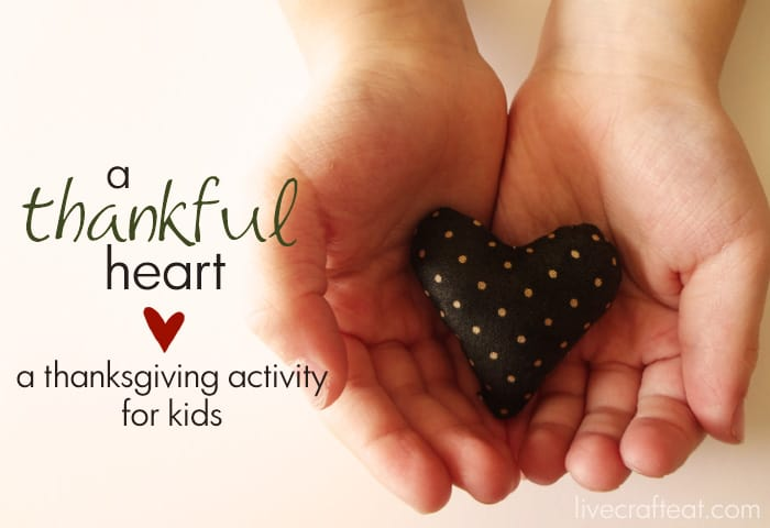 {a thankful heart :: a thanksgiving activity for kids} *love it