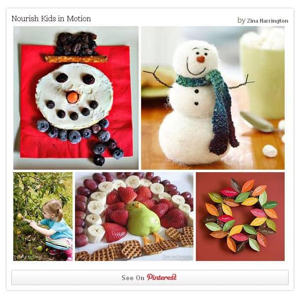 {Nourish Kids in Motion} *Great Pinterest board