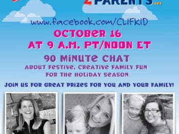 {ZParents Chat} *Wednesday, October 16th at 9amCST *Bring your creative family fun ideas and questions for the holiday season!