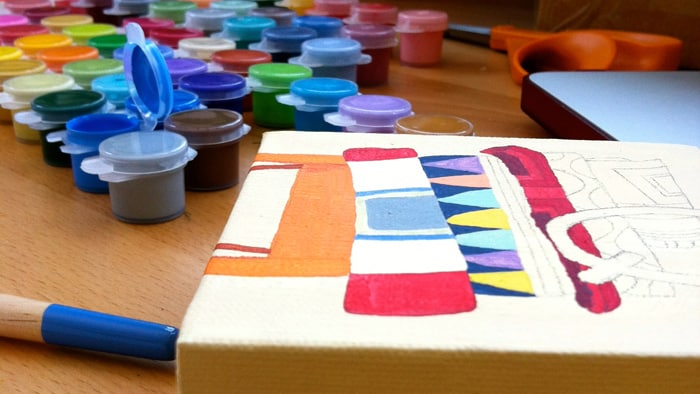 You may not be a Picasso or Mozart but you don't have to be. Just create to create. Create to remind yourself you're still alive. Make stuff to inspire others to make something too. Create to learn a bit more about yourself. - Frederick Terral