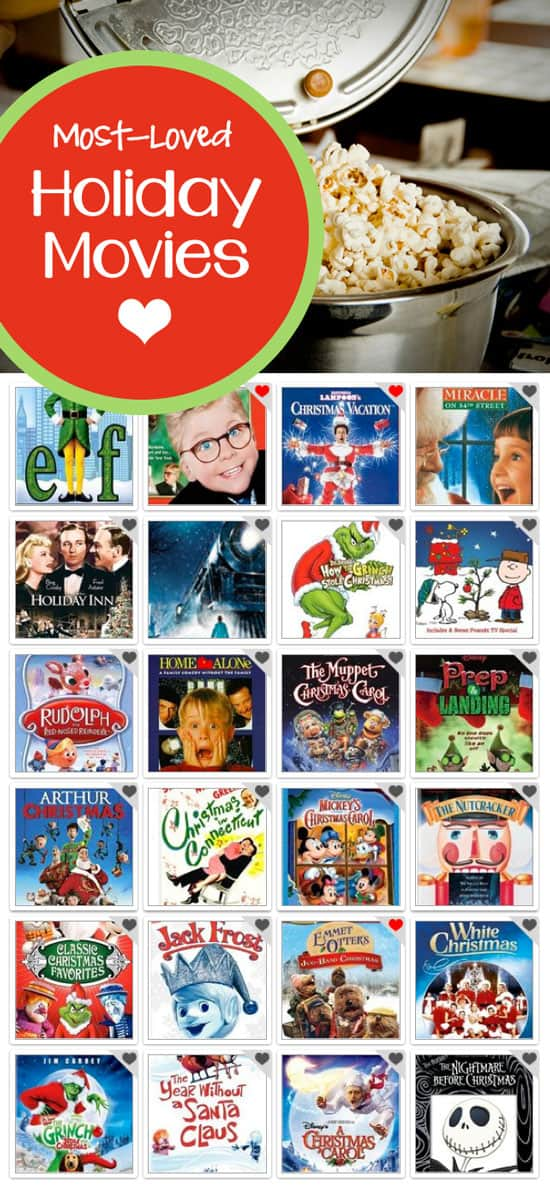 - 10 Most-Loved Family Holiday Movies