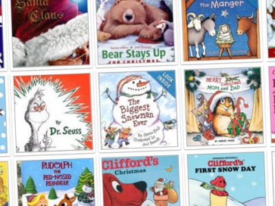 100+ Winter & Holiday Books for Kids Recommended by Moms