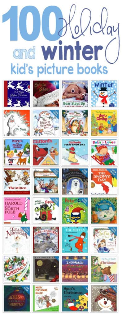 Great list of winter and holiday books for kids... *Reserving a bunch of these from the library