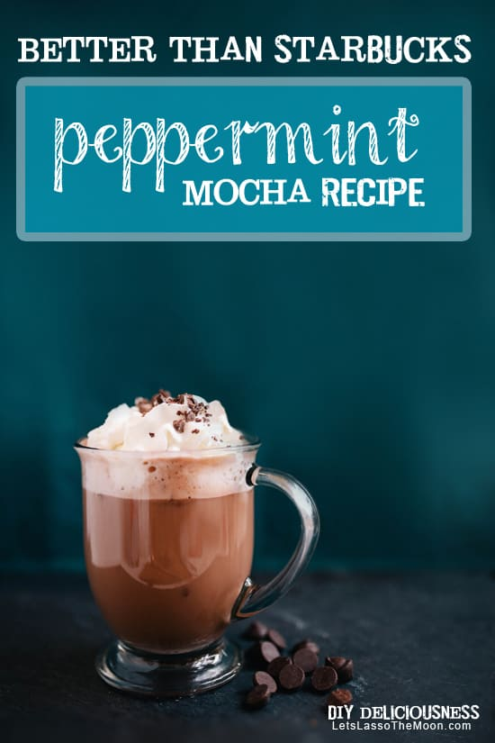 Must-Try Cocoa-Mint Ganache Coffee *So making this... #starbucks #hotchocolate