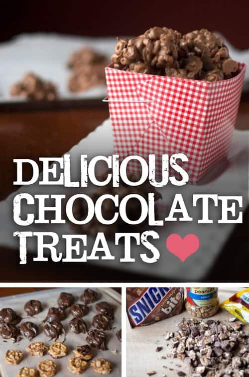 Valentine's Day Chocolate Treats *Saving this recipe...