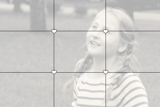 Let's play tic-tac-toe.  5 Simple Tips for Better Family Photos
