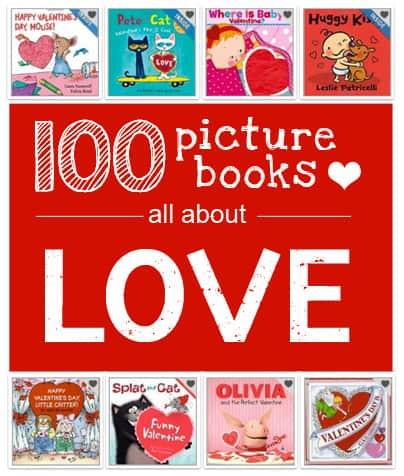 {100 Picture Books About Love} *Reserving some from the library now