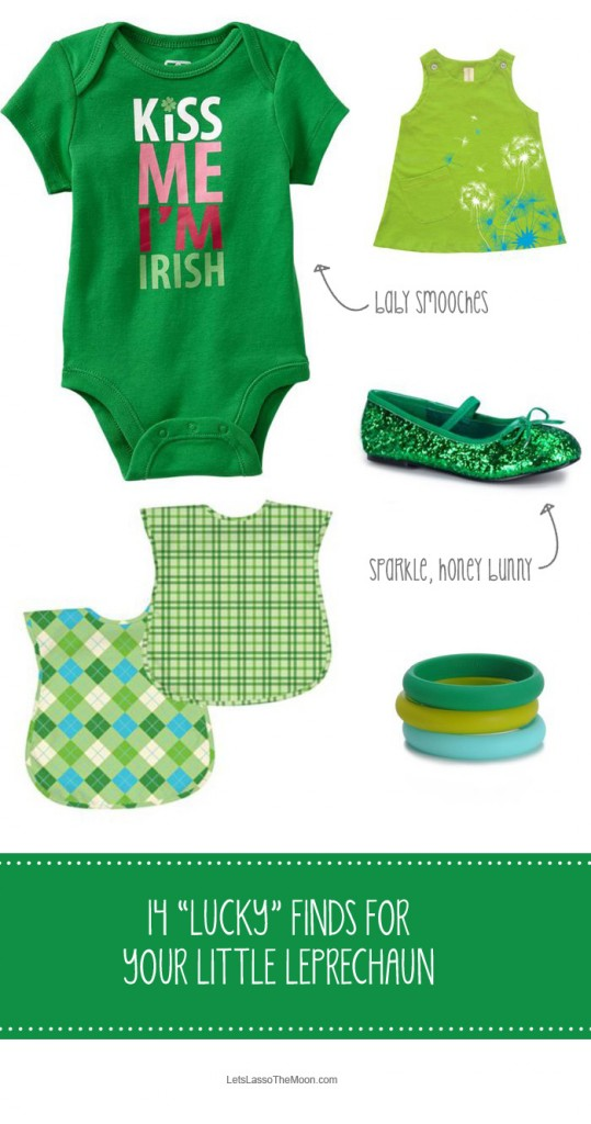 Fashionable Finds for Your Little Leprechaun