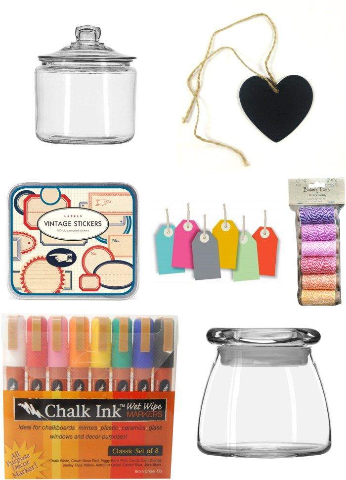 Creating 3 allowance jars for: savings, donation, spending...