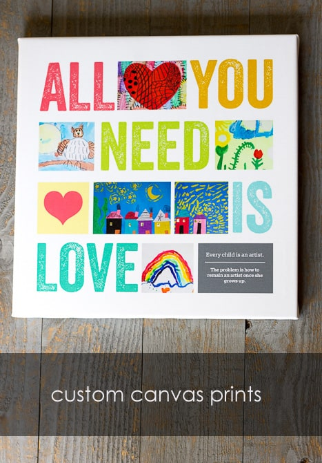 7 Ways to Bring Art Into Your Everyday Life *love this canvas print
