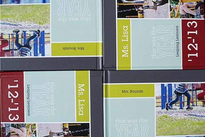 End of the Year Teacher Gift Book by Carey Pace, posted on Lets Lasson the Moon