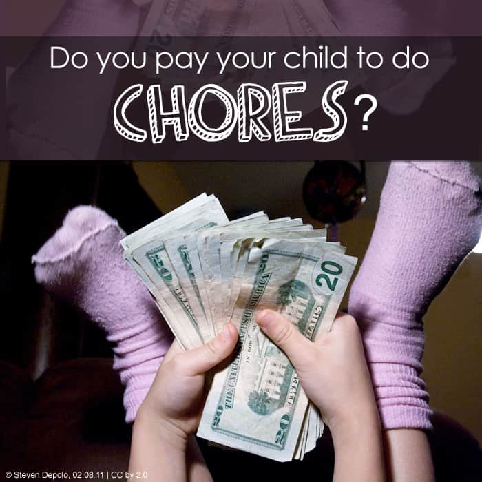 Kids + Chores *Interesting collection of opinions