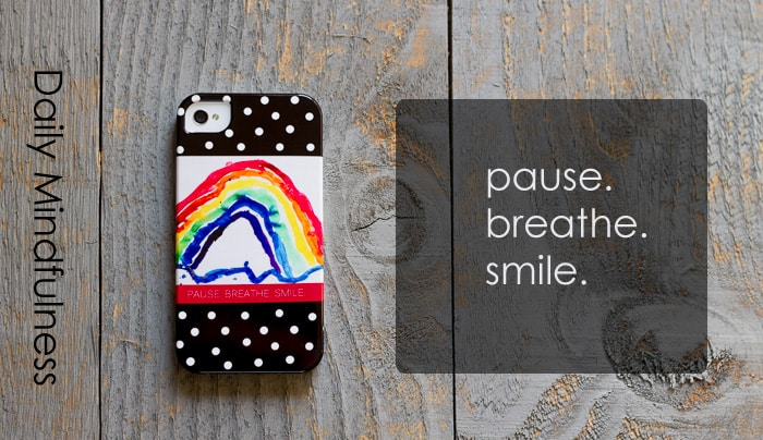 Daily Mindfulness: When the phone rings... pause, breathe, smile. *Great article