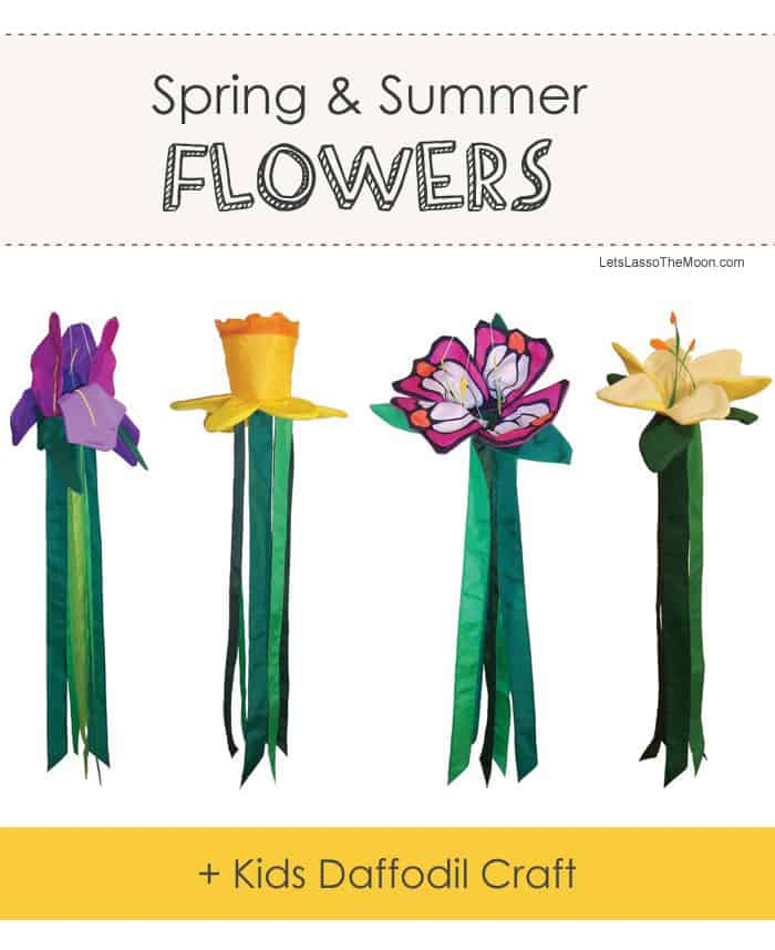 Adorable Egg Carton Daffodil Kids Craft *Love these flower windtails.