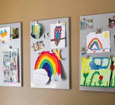 7 Ways to Upcycle Kids' Art With Photography